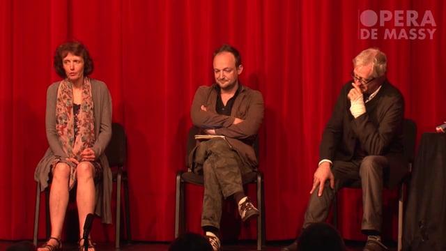 Conférence Le Duplicateur avec Emmanuèle Dubost, Benoît Richter et Thierry Machuel