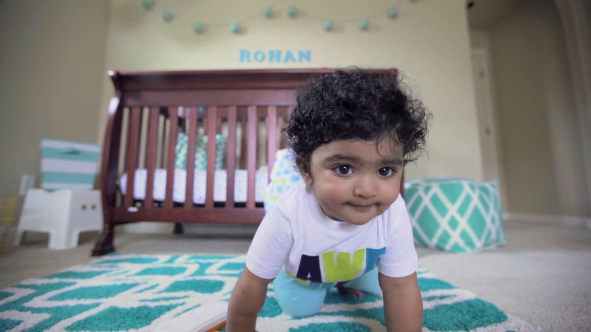 Rohan's 1st Birthday - Party Invitation