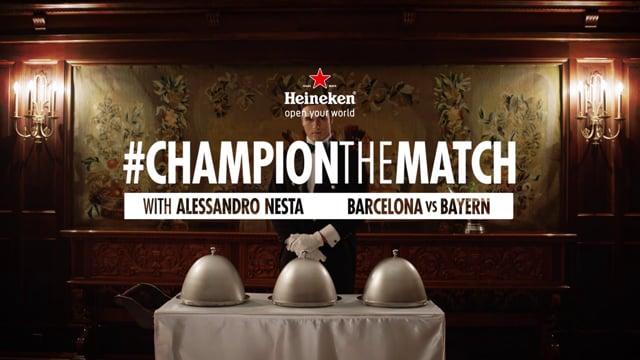 Heineken – Champion the match 3
