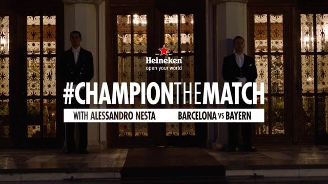 Heineken – Champion the match 2