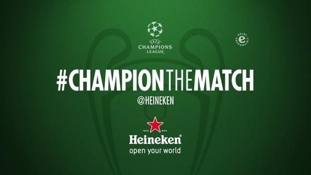 Heineken – Champion the match 5