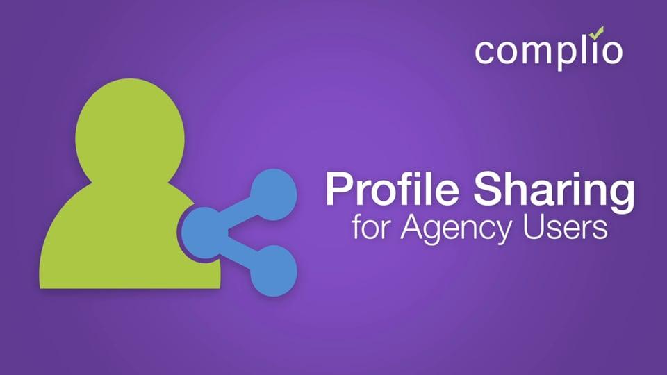 Complio Profile Sharing Agency