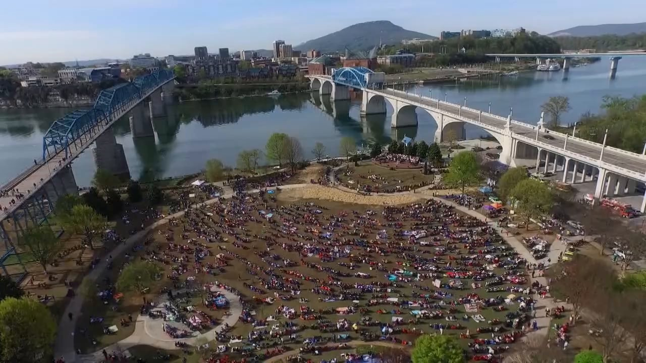 Easter at Coolidge Park