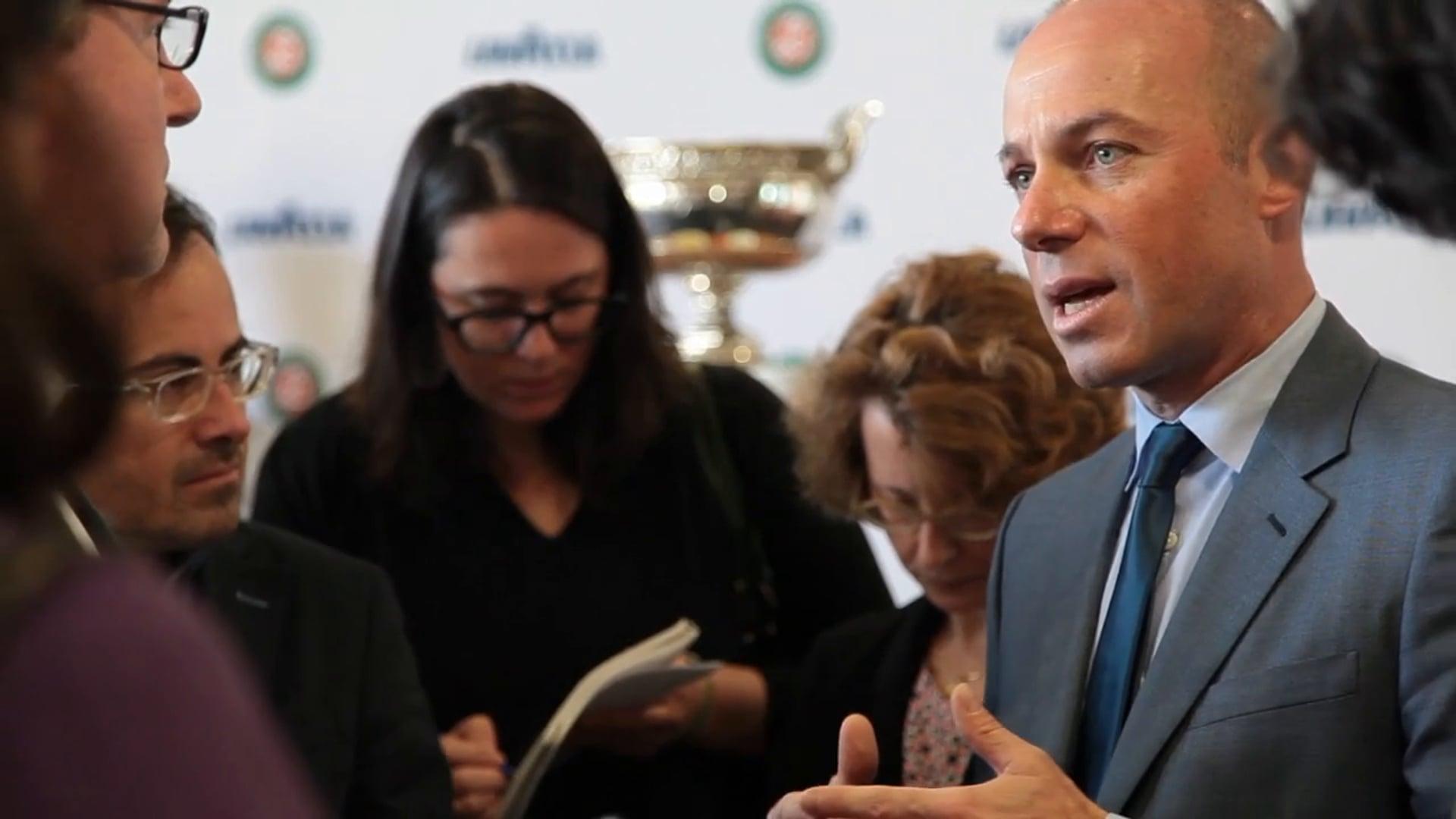 Servizio ANSA - Lavazza fornitore ufficiale del Roland Garros
