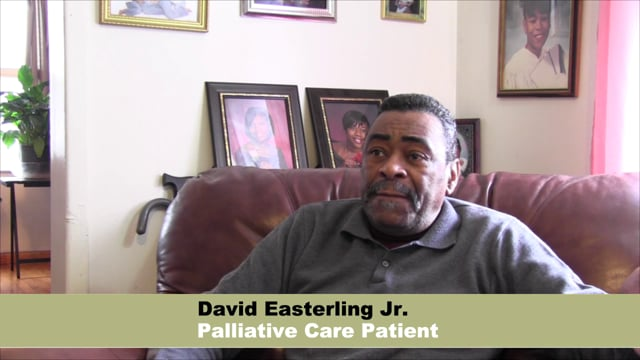 What does palliative care mean to you?