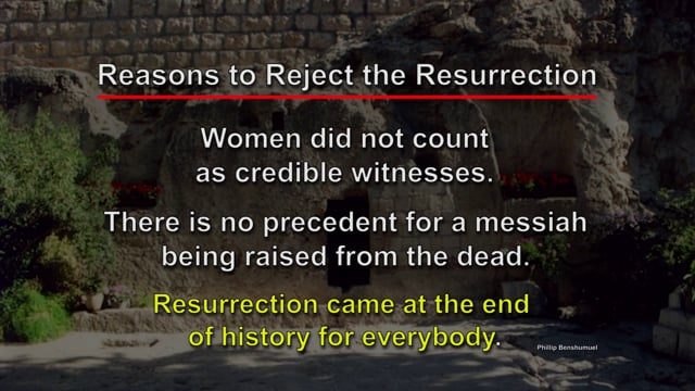 Were the Jews Expecting a Resurrected Messiah?