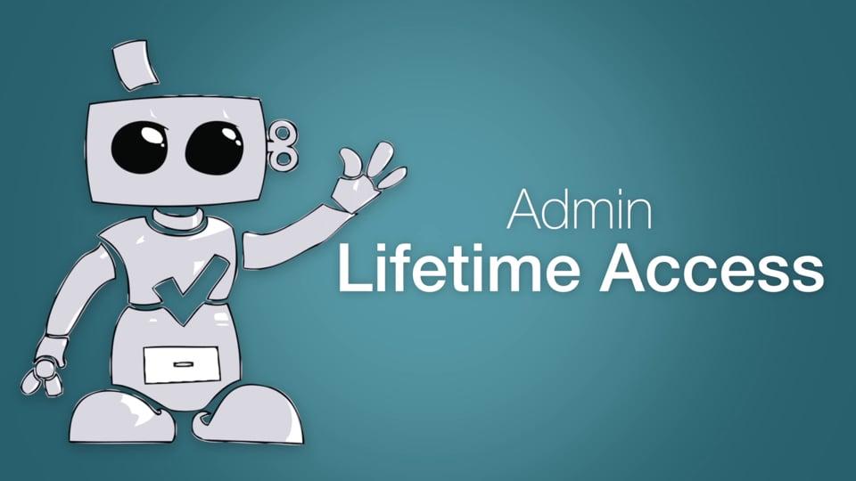 Admin Lifetime Access