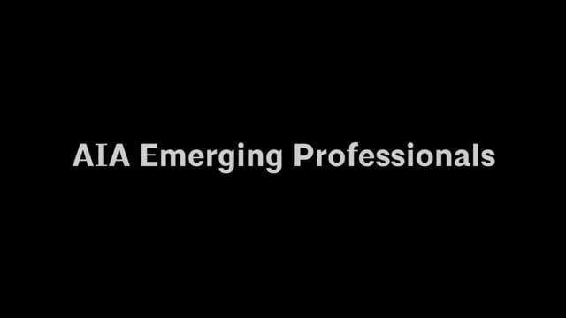 AIA Emerging Professionals update
