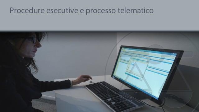 Procedure esecutive e processo telematico 15/6/2015