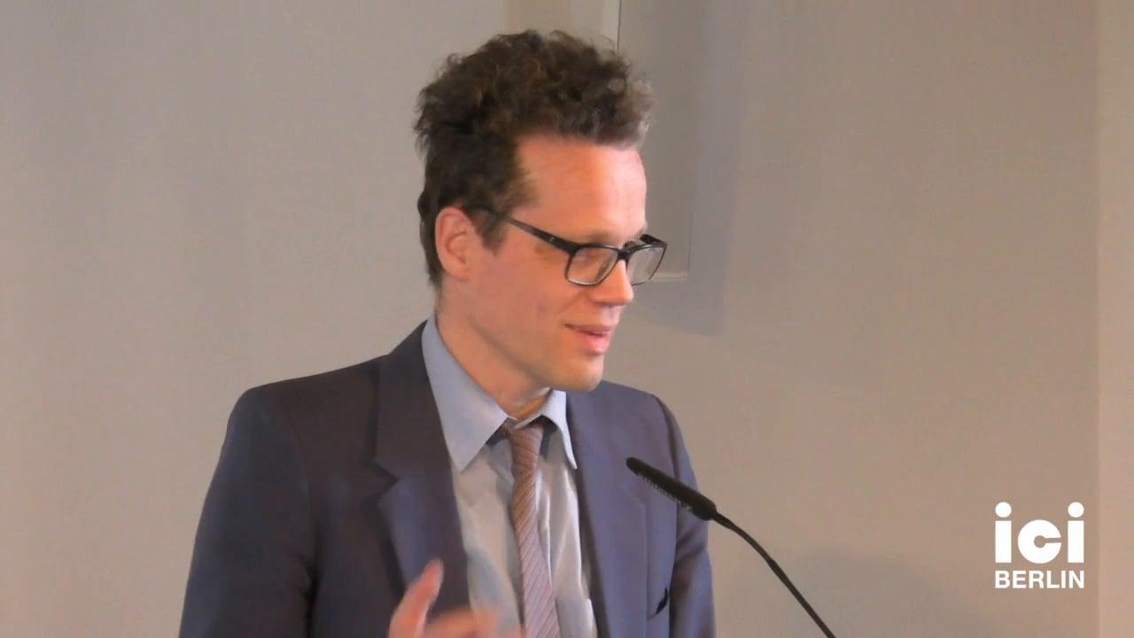 Introduction by Arnd Wedemeyer [1]