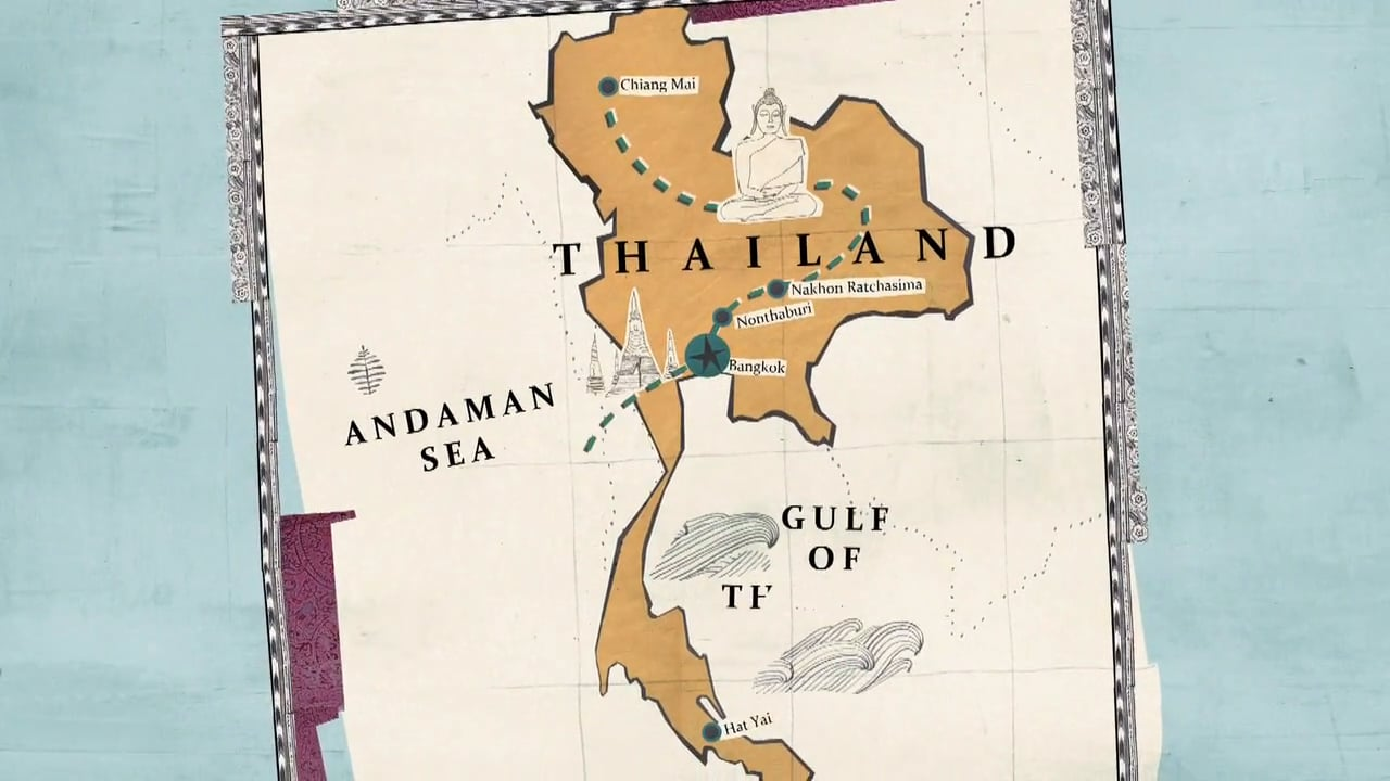Man Shops Globe: Thailand