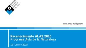 Reconocimientos ALAs 2015