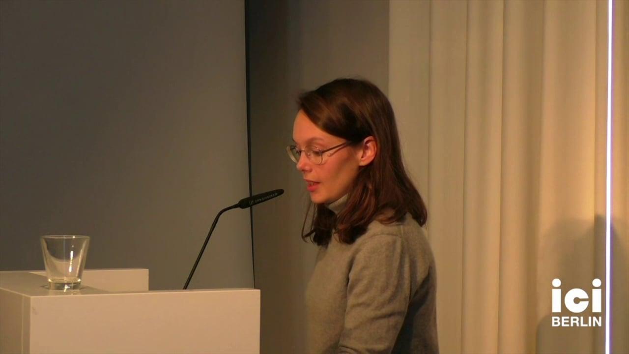 Introduction of Nimrod Reitman by Maren Haffke [3, 1]