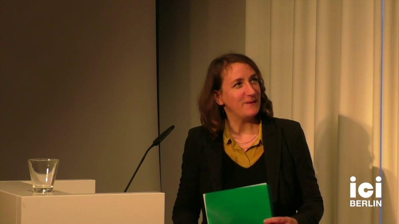 Introduction of Reinhold Görling by Anna Tuschling [4, 1]