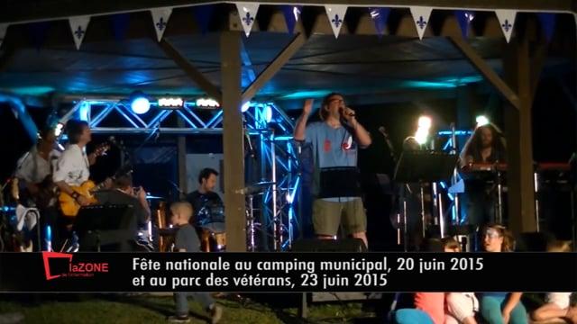 Reportage : Fête nationale à Brownsburg-Chatham (Zone vacances 15 juin 2015 p.04)