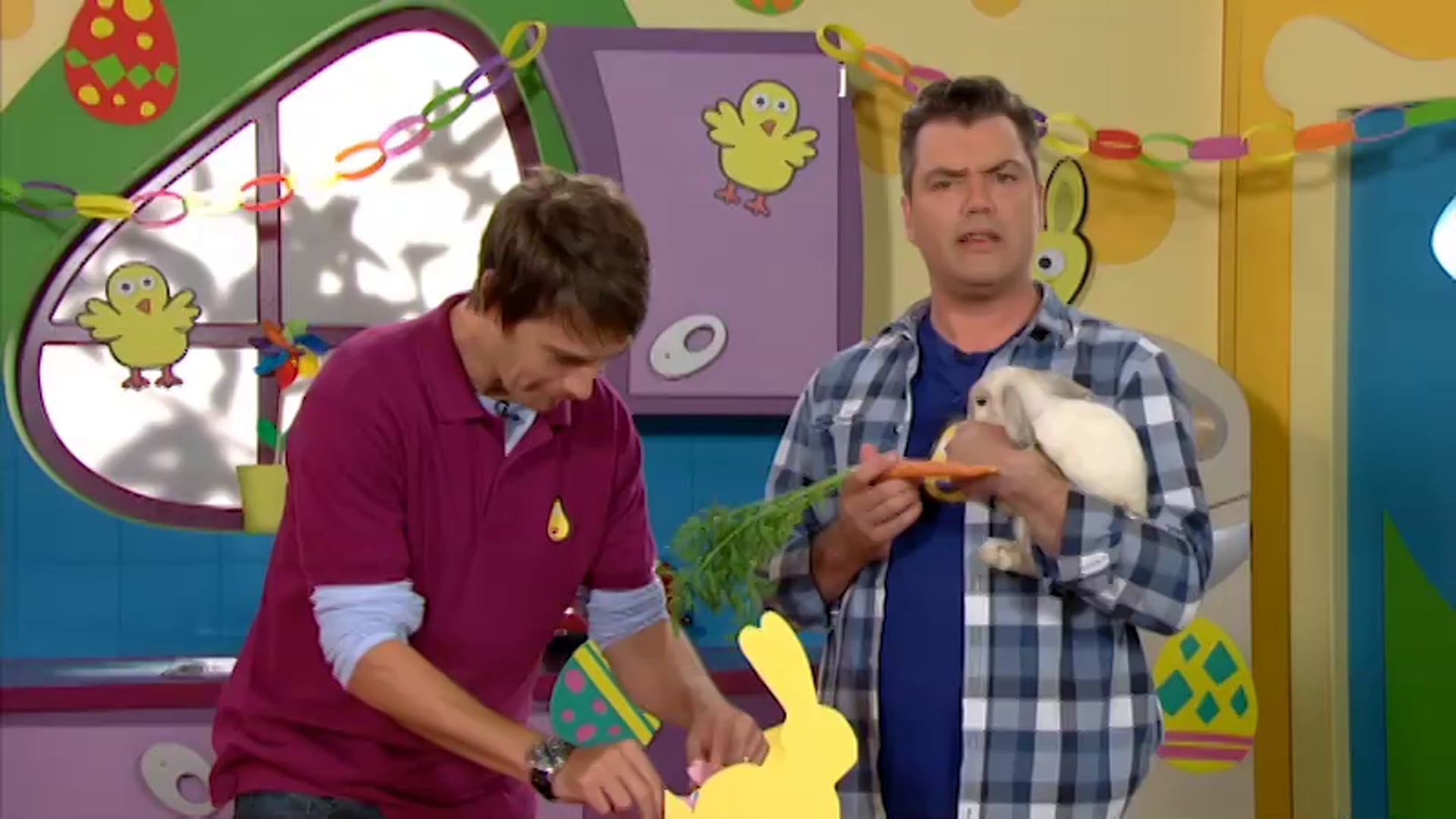 BBC TV FOR KIDS - HOW many rabbits?!