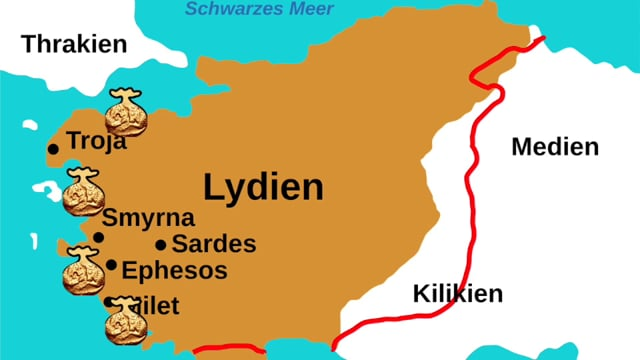 Lydien, ca. 550 v. Chr.