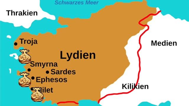 Lydia, c.550 B. C.