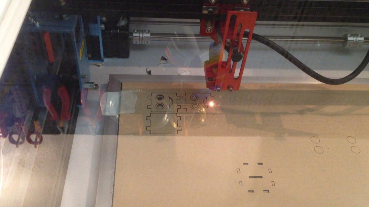 Lasercutting a Danbo