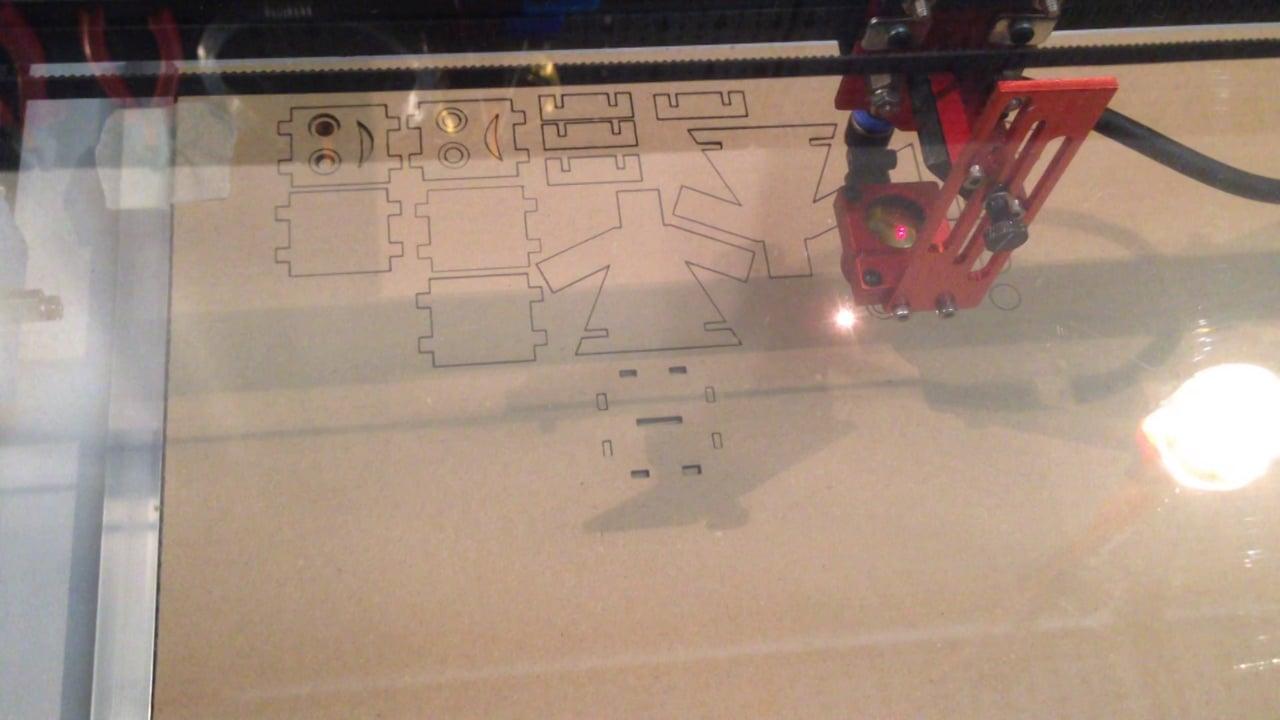 Lasercutting a Danbo part 2