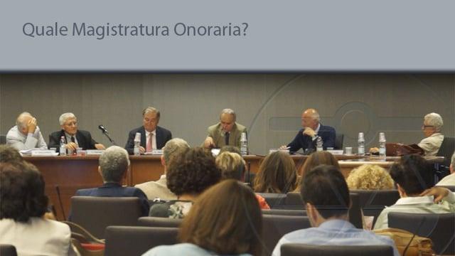 Quale Magistratura onoraria? - 26/6/2015
