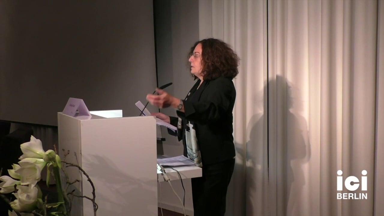 Talk by Gertrud Koch [7, 2]
