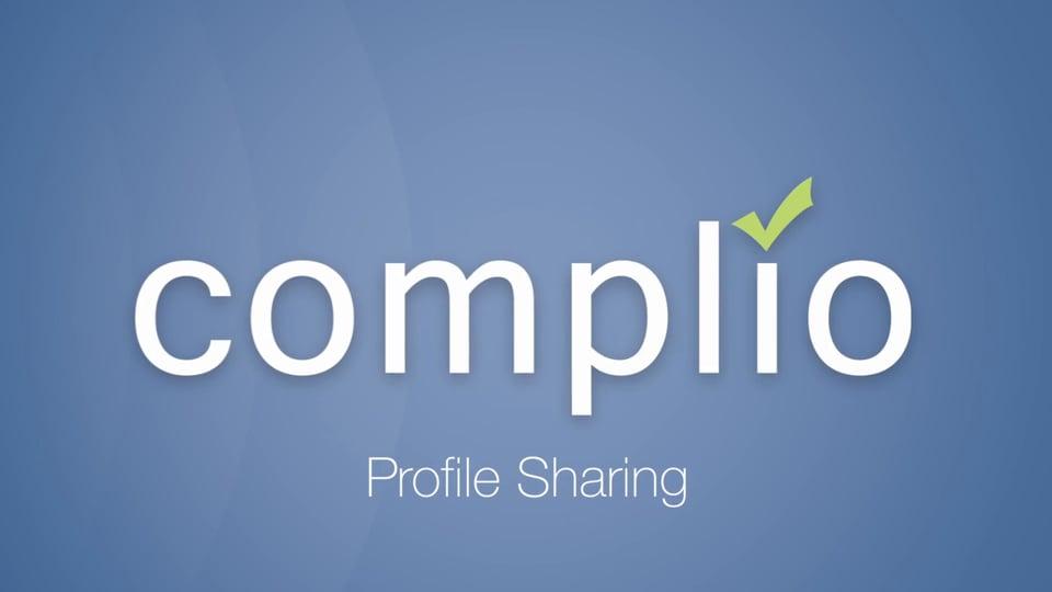 Complio Profile Sharing