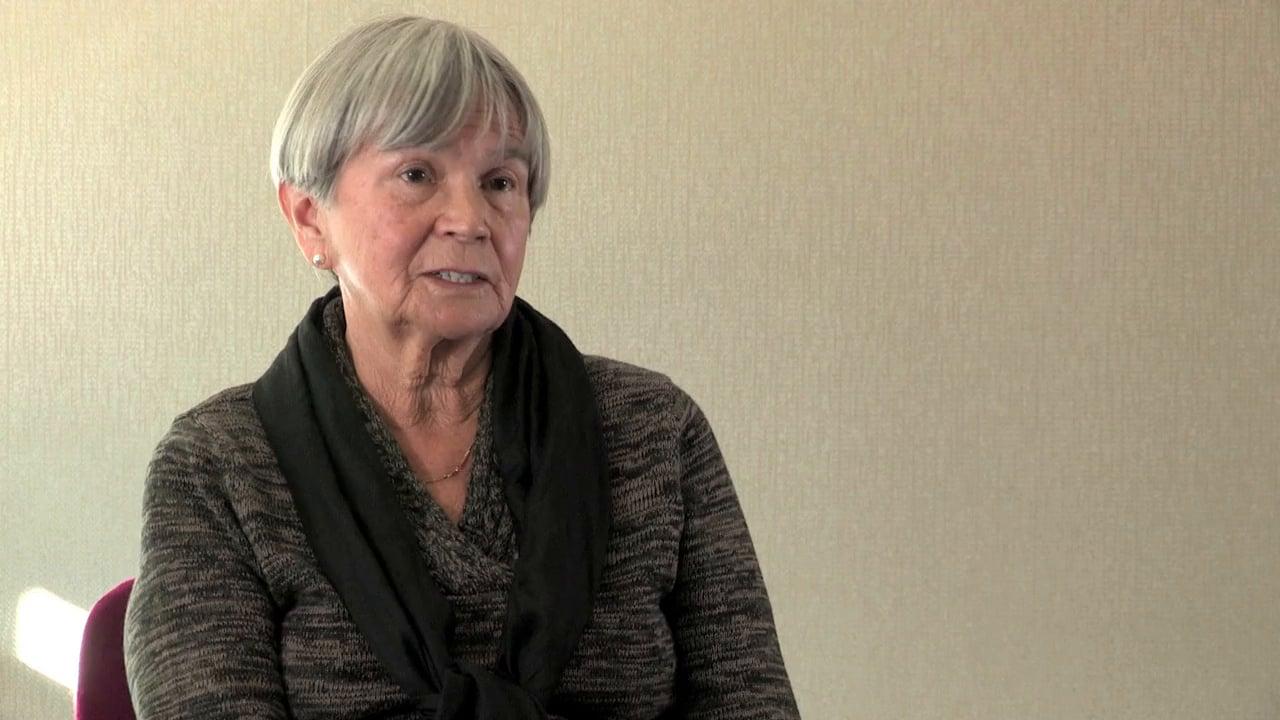 """Nora Greenway, """"Survivors Speak"""""""