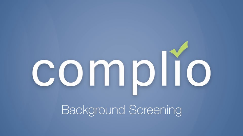 Complio Background Screening