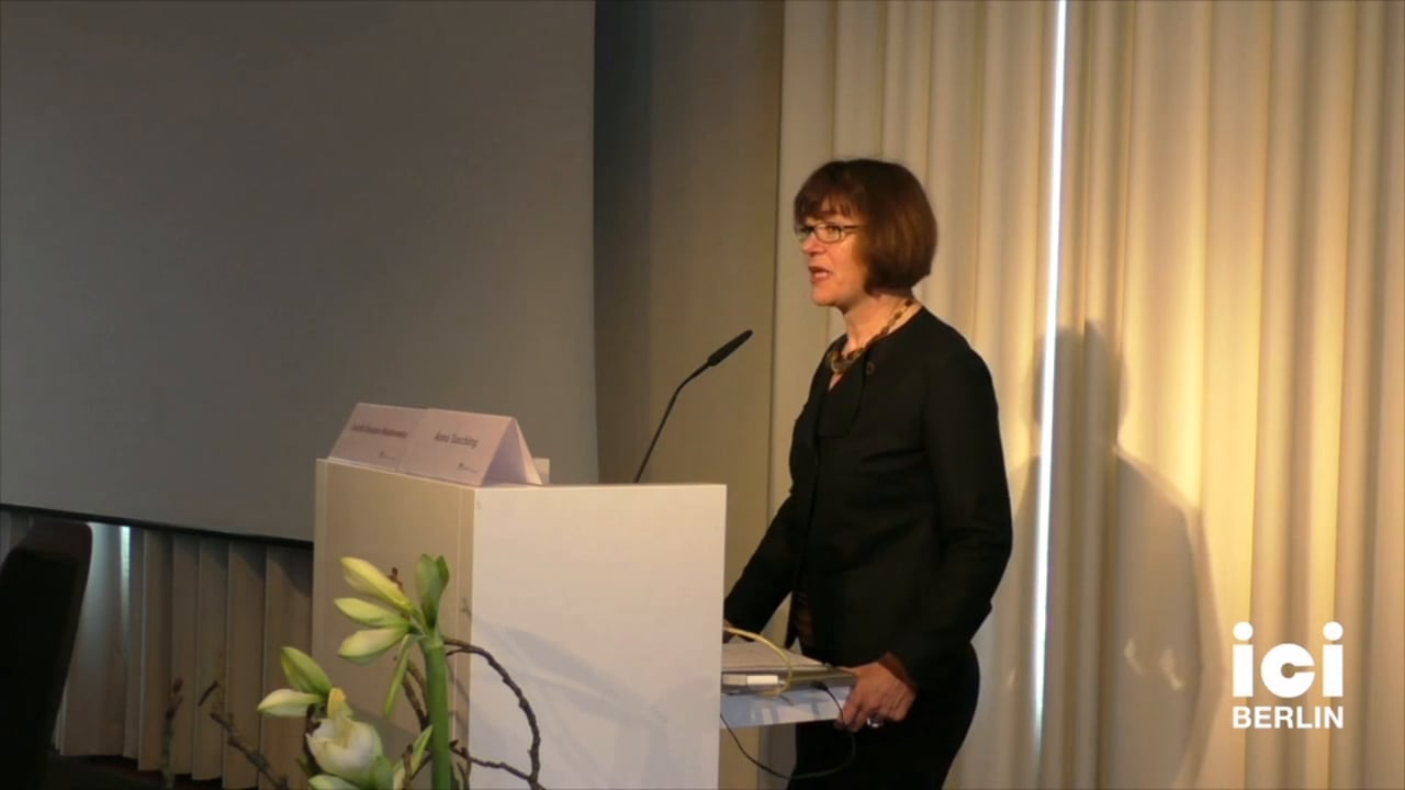 Introduction of Monique David-Ménard by Astrid Deuber-Mankowsky [1, 4]