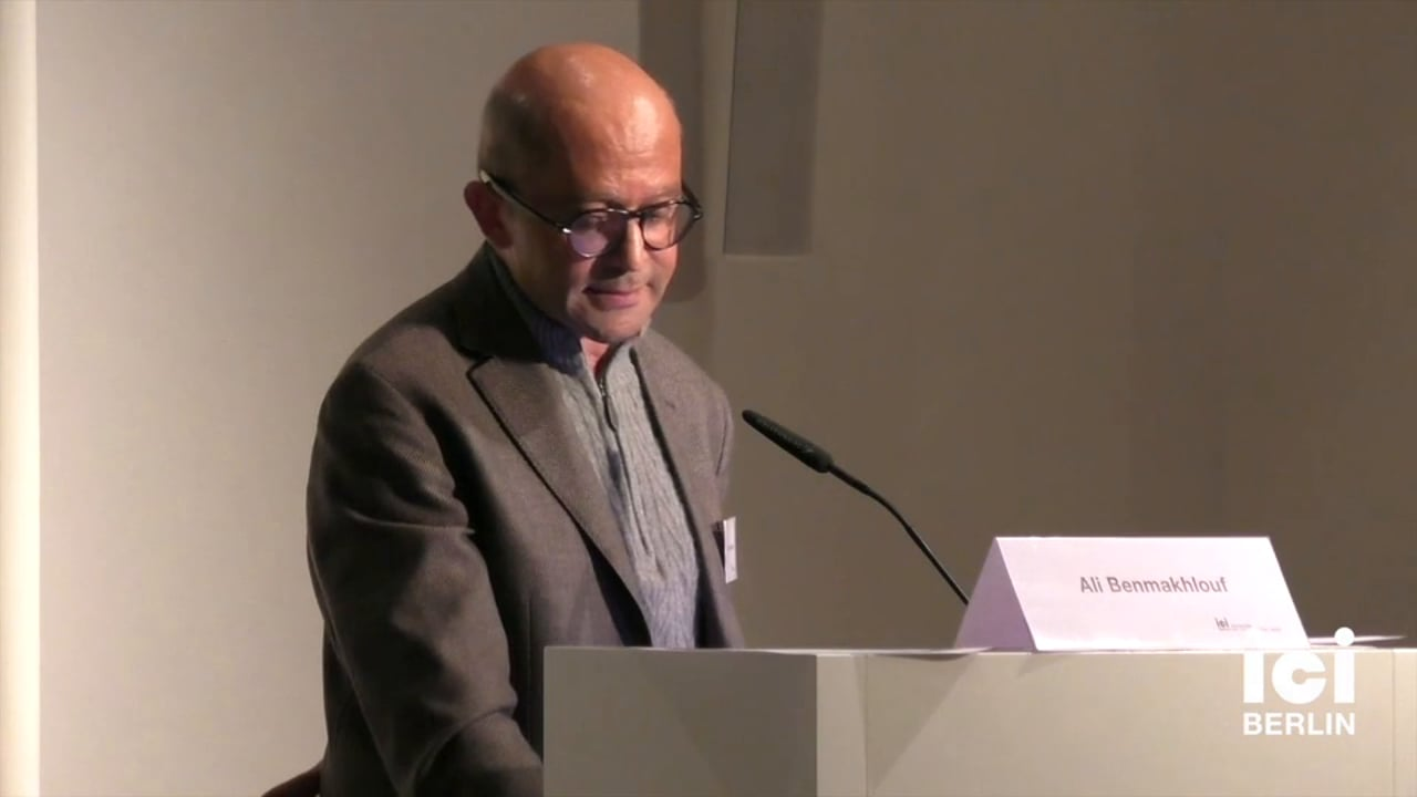 Talk by Ali Benmakhlouf [3, 2]