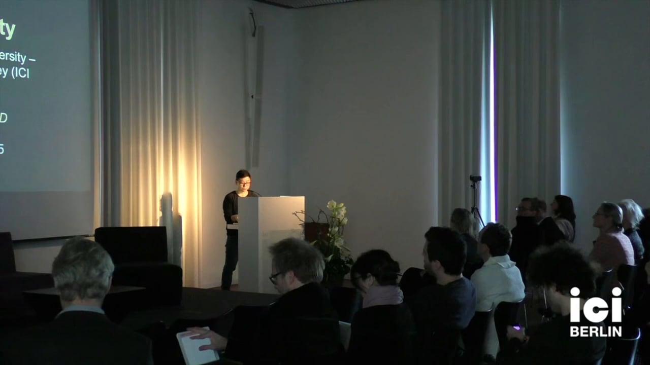 Introduction of Manuele Gragnolati by Anja Michaelsen [4, 1]