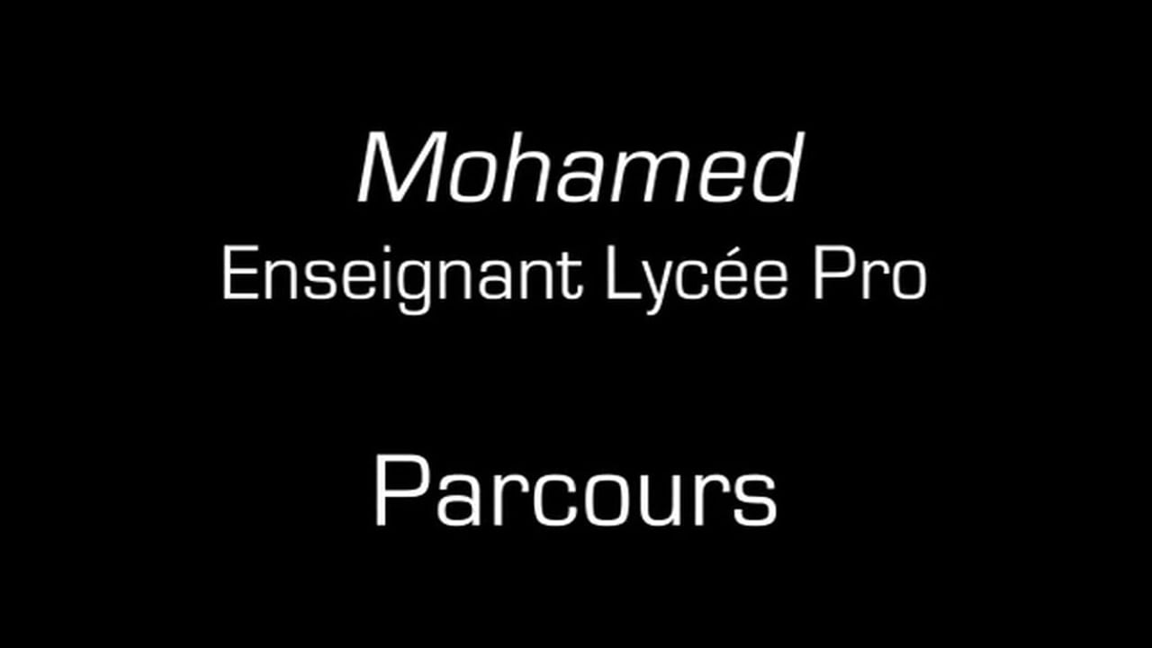 Mohamed / Parcours