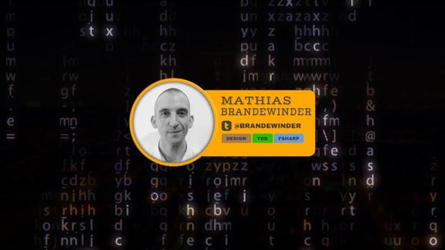 THE T IN TDD : TESTS, TYPES, TALES - Mathias Brandewinder