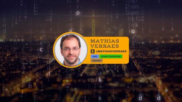 TOWARDS MODELLING PROCESSES - Mathias Verraes