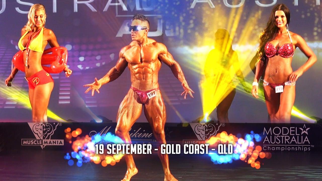2015 Musclemania® Australia - Gold Coast - Qld - September 19