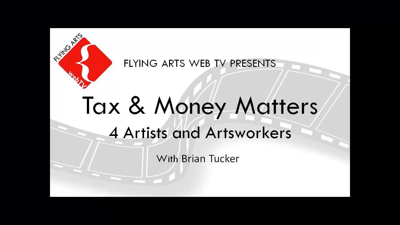2015 Tax and Money Matters for Artists and Artworkers