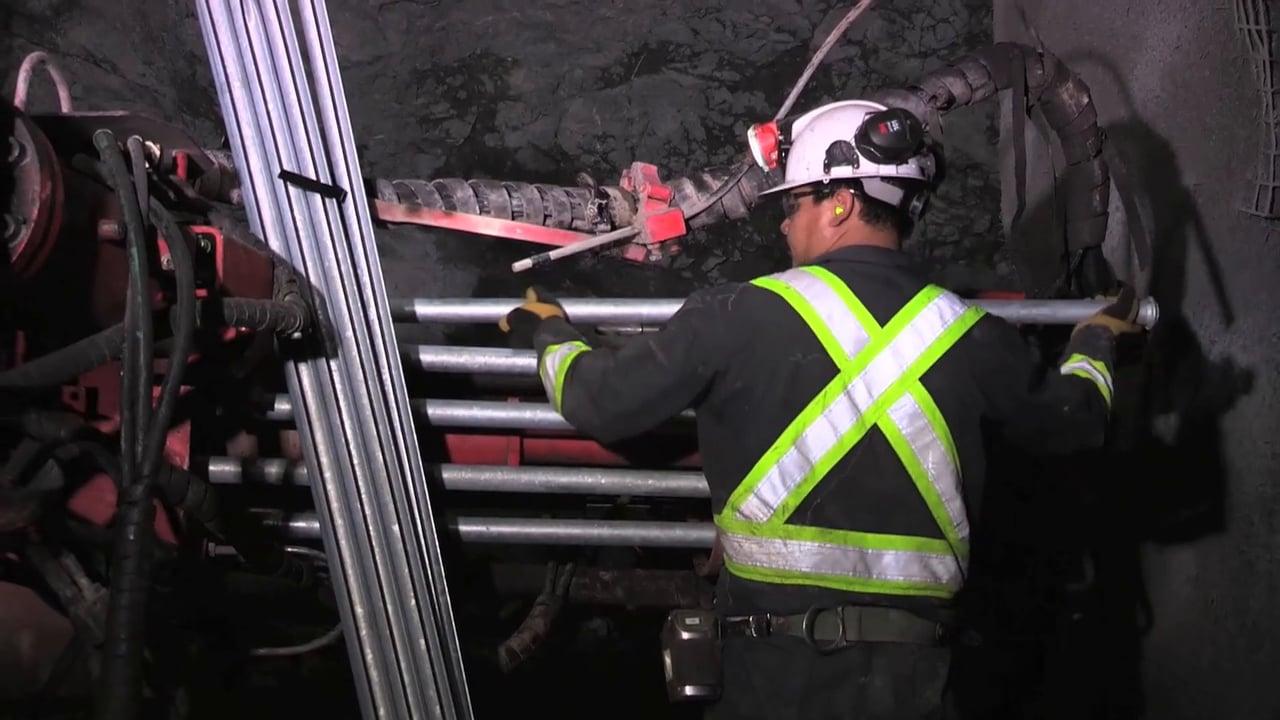 Aaron Camille, Underground Miner, Careers in Natural Resources
