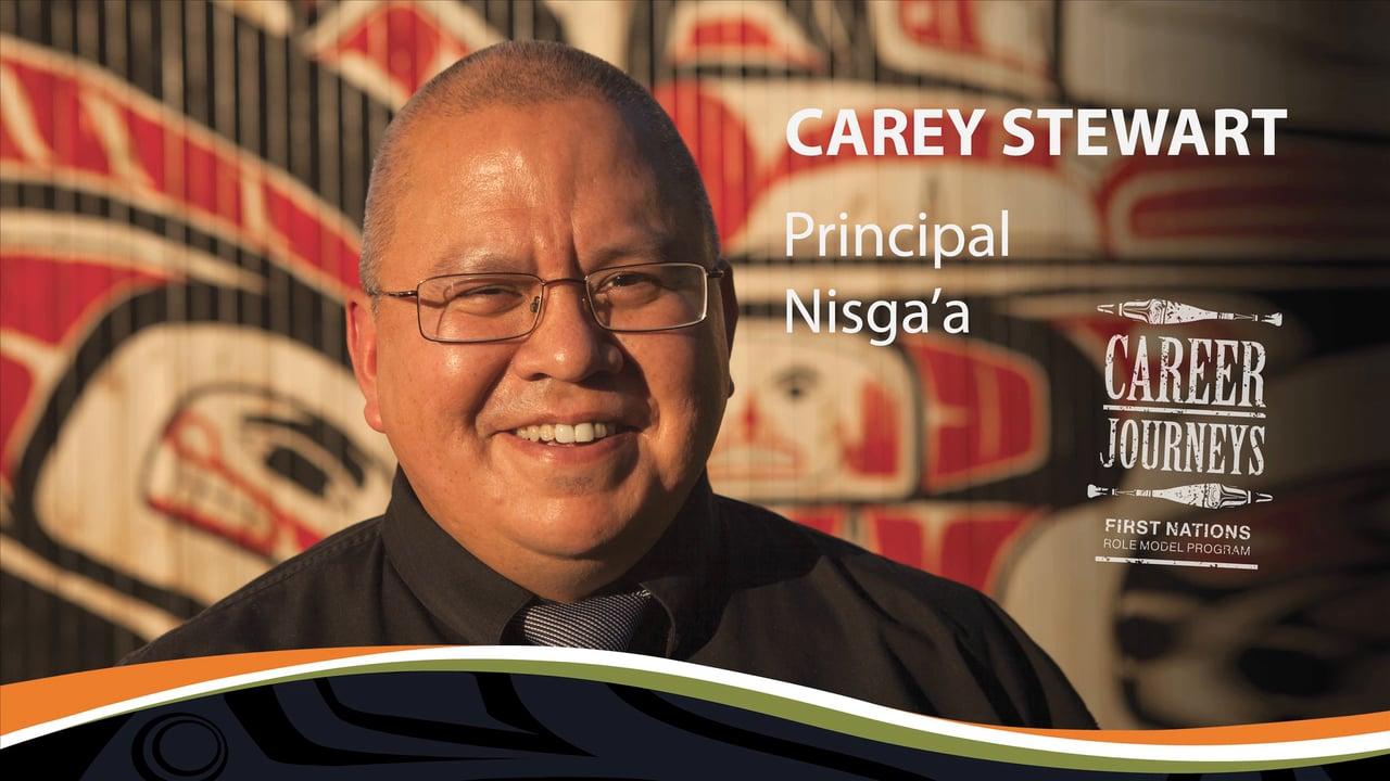 Carey Stewart, Principal, Careers in Education