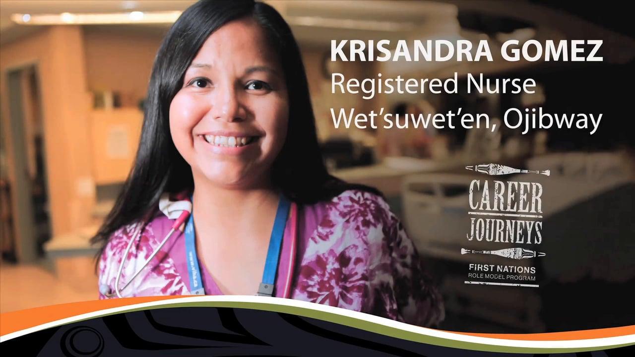 Krisandra Gomez, Registered Nurse, Careers in Health Care