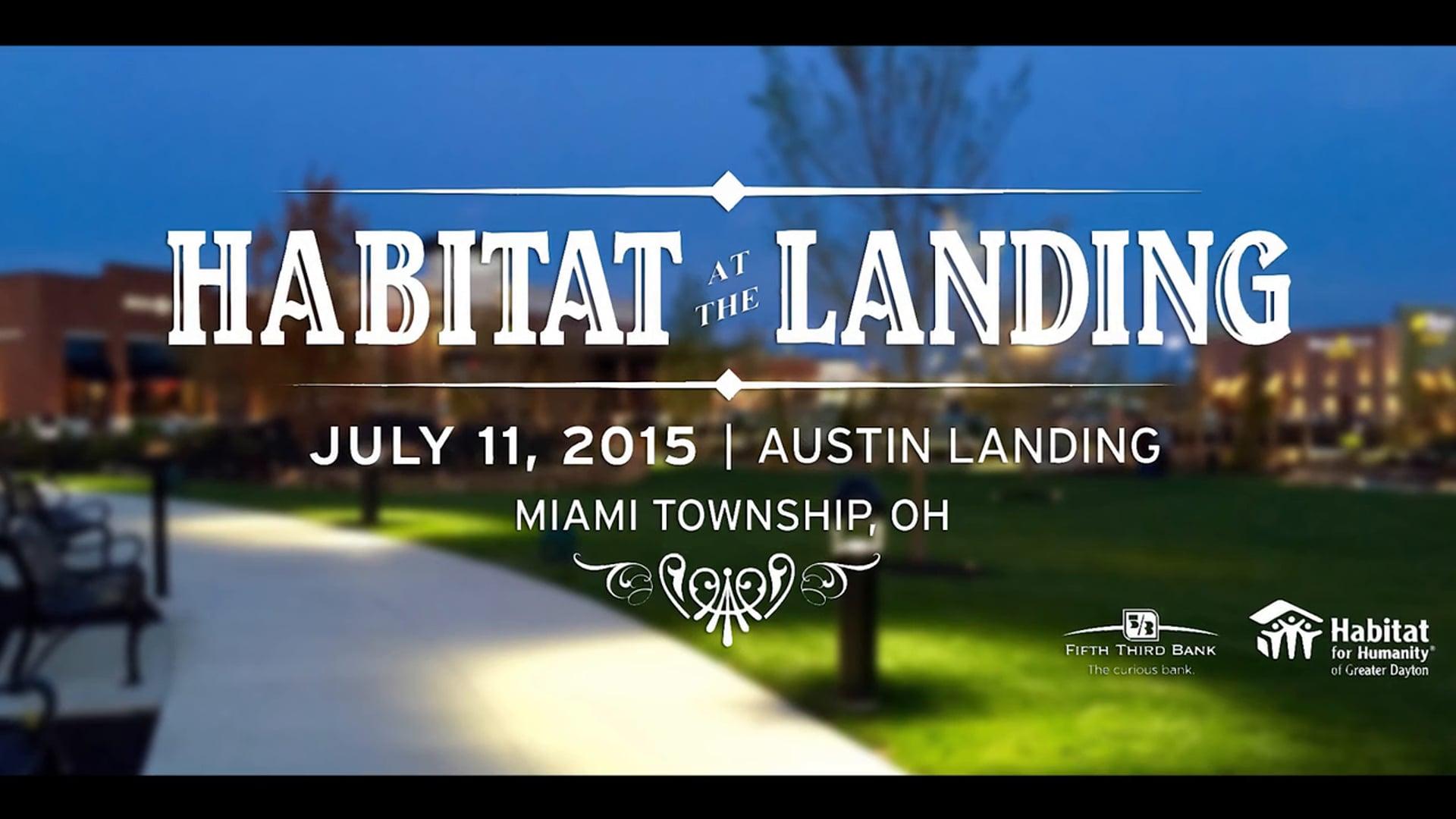 Habitat at the Landing 2015
