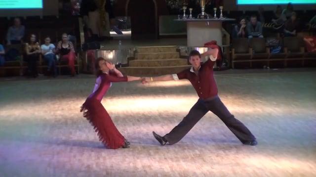 Иван и Варвара Зайцевы - Кубок Чемпионов 2014, fast