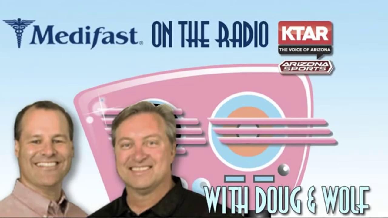 Doug & Wolf on KTAR Talk About the Medifast Arizona Staff (602) 996-9669