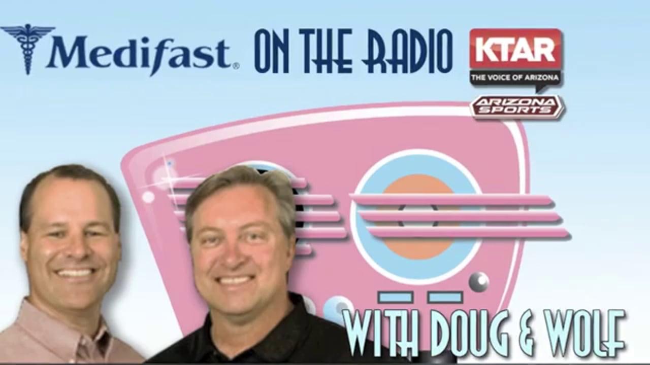 Doug & Wolf Speak to Scottsdale Medifast Success Story Travis