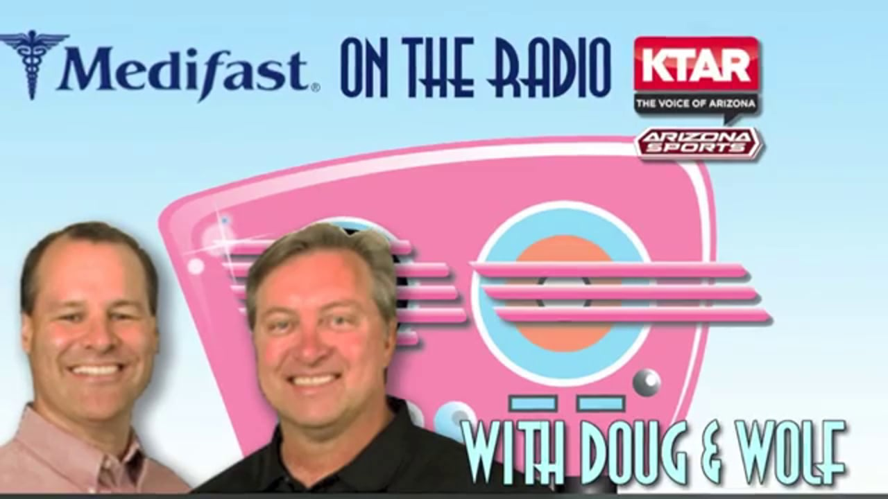 Medifast Client Brian Appears on Radio with Doug & Wolf (602) 996-9669