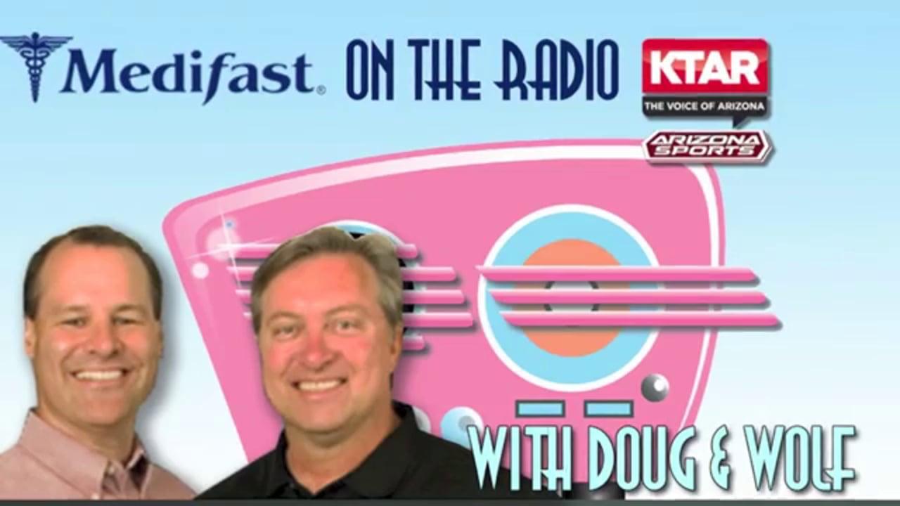 Medifast Client Dan Talks to Doug & Wolf on KTAR (602) 996-9669