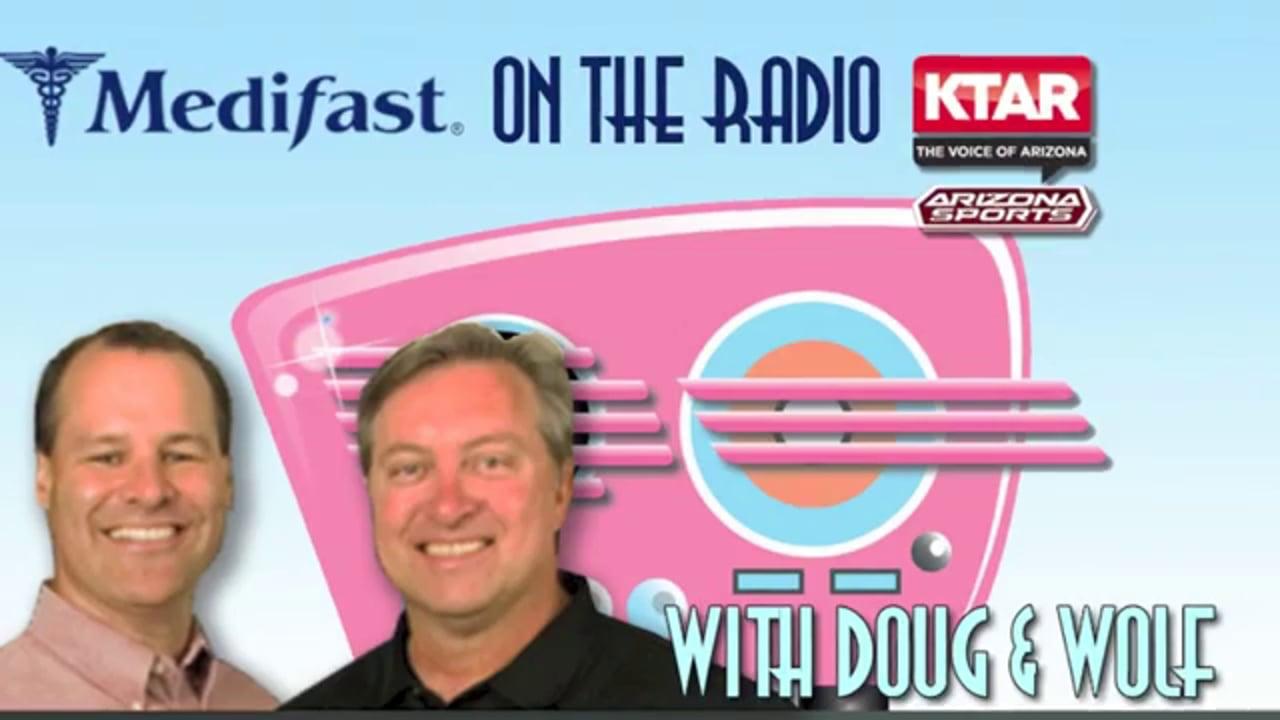 Medifast Client Kay Speaks with Doug & Wolf on KTAR (602) 996-9669