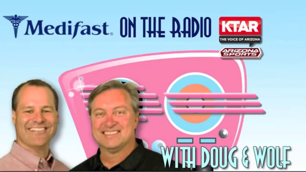 Arizona Medifast Commercial with Doug and Wolf on KTAR (602) 996-9669
