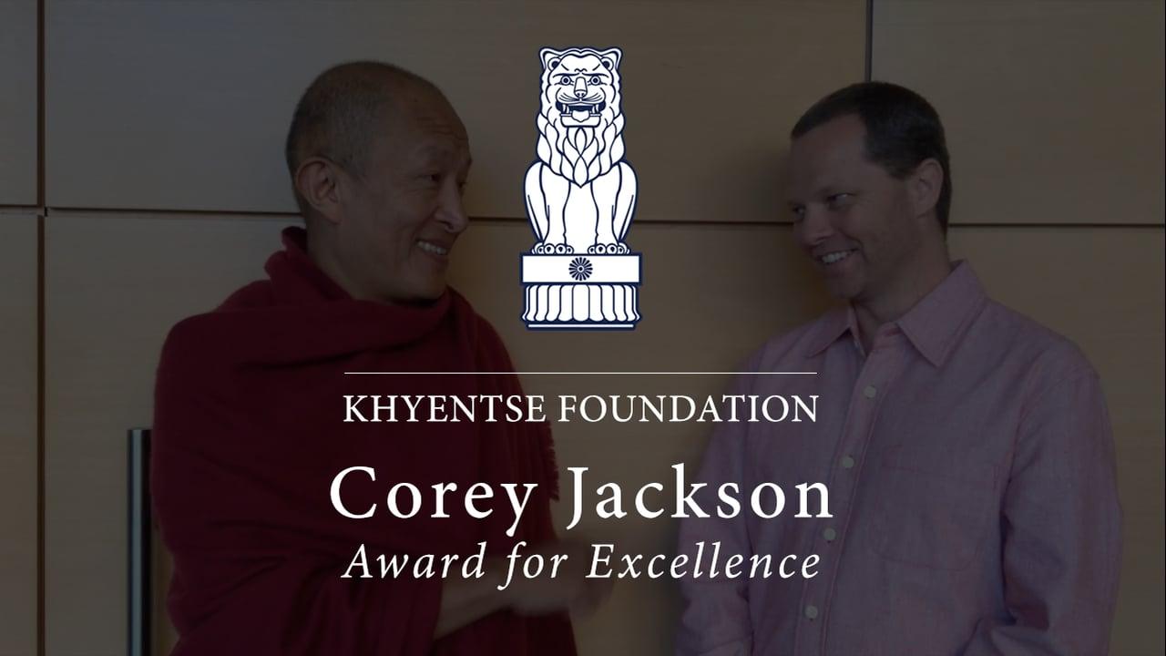 Sydney Award Makes Rinpoche Happy
