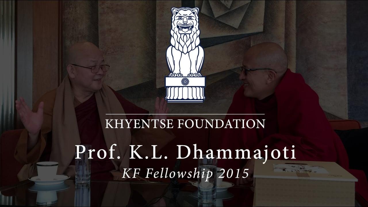 KF Fellowship - Prof. K. L. Dhammajoti